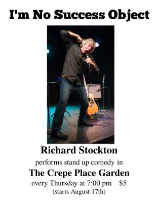 Richard Stockton: Stand Up Comedy In The Garden!