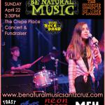 Be Natural Music: Youth Rock Concert in the garden.