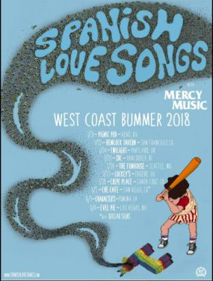 Spanish Love Songs w/ Mercy Music and Dearly Divided