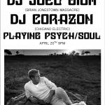DJ Joel Cion (Brian Jonestown Massacre) w/ DJ Corazon (Chicano Electric)