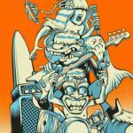 Surfer Joe w/ Dead Kampers and Greasy Gills