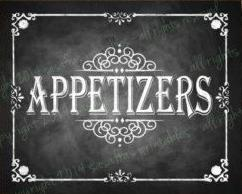 Appetizers - Limited Menu
