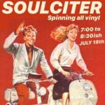 Soulciter - Spinning records in the Bottle Bar (in back)