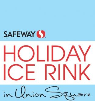 Safeway Holiday Ice Rink in Union Square